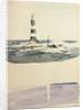 Eddystone lighthouse of 1759 by William Lionel Wyllie