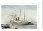 The Ormuz, Orient Line by William Lionel Wyllie