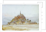 Mont St Michel by William Lionel Wyllie