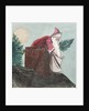 Father Christmas going down the chimney by William Lionel Wyllie