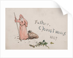 Father Christmas 1887 by William Lionel Wyllie