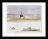 Studies of 'M'-class coastal monitor M25 by William Lionel Wyllie