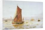 Barge by William Lionel Wyllie