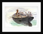Boat's crew by William Lionel Wyllie