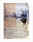 Below London Bridge by William Lionel Wyllie
