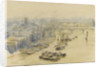 Mist and barges by William Lionel Wyllie