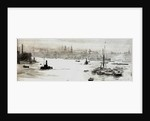City from Limehouse by William Lionel Wyllie