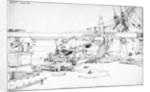 Forecastle pivot gun of the 'Immortalite' by Edward William Cooke