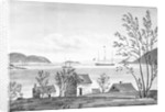 Port St George, Lissa, from the town by William Innes Pocock