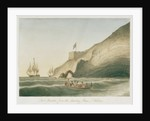 Fort Munden, from the Landing Place, St Helena by William Innes Pocock