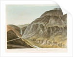 No 2, View of the High Knowle, & Waterfall at the head of James's Valley by William Innes Pocock