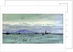 Straits of Gibraltar by William Lionel Wyllie