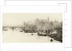 London Bridge, Cannon Street and Billingsgate by William Lionel Wyllie