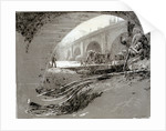 Archway of Old London Bridge by William Lionel Wyllie