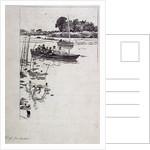 On Upper Thames by William Lionel Wyllie