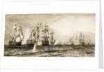 Trafalgar by William Lionel Wyllie