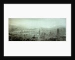 Panoramic view of London by William Lionel Wyllie