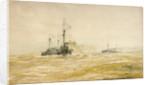 Manoeuvres by William Lionel Wyllie