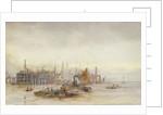 Jetty Becton Gasworks by William Lionel Wyllie