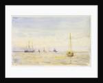 Hamble Spit by William Lionel Wyllie