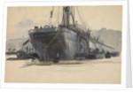 Sandsend Collier by William Lionel Wyllie