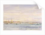 Yachts by William Lionel Wyllie by William Lionel Wyllie