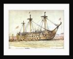 HMS Victory by William Lionel Wyllie