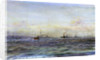 German Battleships and Cruisers, Scapa by William Lionel Wyllie