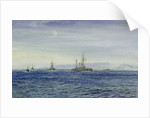 HMS 'Albemarle' in the Moray Firth by William Lionel Wyllie