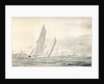 Big yachts round Spithead by William Lionel Wyllie