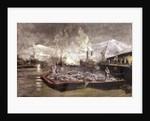 Loading under Arc Light by William Lionel Wyllie
