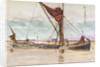 Thames barge by William Lionel Wyllie