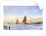 Haarlem Yacht Haven by William Lionel Wyllie