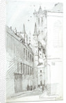 The St Nicholas Church in Ghent by William Lionel Wyllie