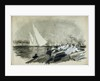Lord Dufferin's yacht racing by William Lionel Wyllie