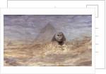 Sphinx by Moonlight by William Lionel Wyllie