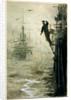 Feeling the way in fog by William Lionel Wyllie