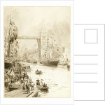 Opening of Tower Bridge by William Lionel Wyllie