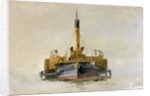 Study of a Portsmouth Harbour Tug by William Lionel Wyllie