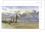 Thames barges in the Medway by William Lionel Wyllie