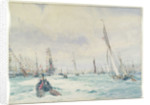 Naval review by William Lionel Wyllie