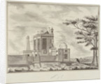 View of the Royal Observatory, Greenwich by John Charnock