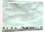 Wide view of Vanbrugh Castle, Vanbrugh House, Sherwood and Vanbrugh Gateway by John Charnock