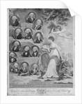 British Admirals Britannia viewing the Conquerors of the Seas by John Hoppner