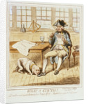What a Cur 'tis! Done from an original drawing by a British Officer - & published as a Guide to Preferment by H. Humphrey
