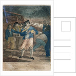 The Tobacco Box, or Jack taking a Quid of Comfort in a storm by John Fairburn