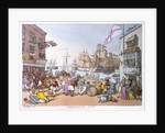 Portsmouth point by Thomas Rowlandson