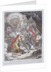 The Death of Admiral Lord Nelson - in the moment of Victory by James Gillray