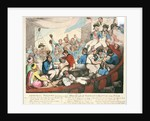 Admiral Nelson recreating with his Brave Tars after the Glorious Battle of the Nile by Thomas Rowlandson
