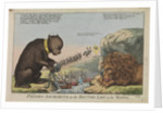 Foreign Amusements or the British Lion on the Watch (caricature) by S.W. Fores
